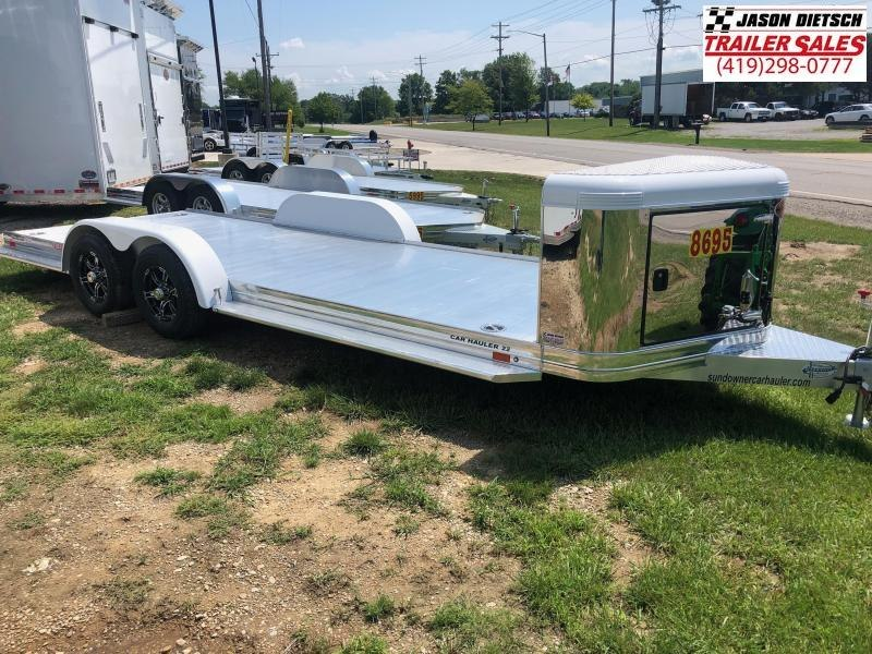 2019 Sundowner 6.9X22 Sunlite Car Trailer.... STOCK# SD-7492