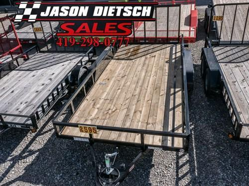 2018 Sure Trac 7x16 Tube Top Utility Trailer....Stock# ST-2551