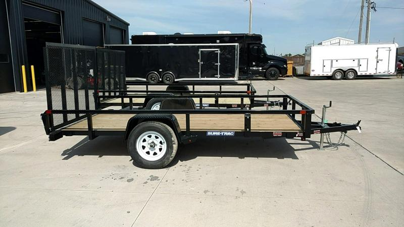 2019 Sure-Trac 7X12 Tube Top Utility....Stock# ST-242656