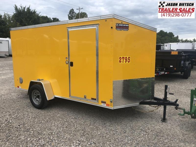 2019 United XLV 6X12 V-Nose Slant Enclosed Cargo Tr....Stock# UN-164368