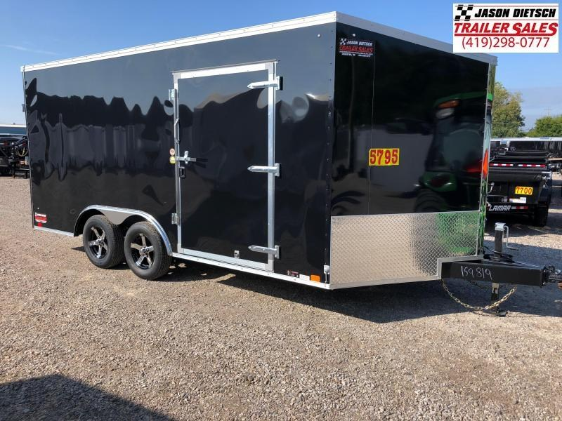 2019 United Trailers XLTV 8.5x19 Wedge-Nose Enclosed Car Hauler....Stock # UN-159819