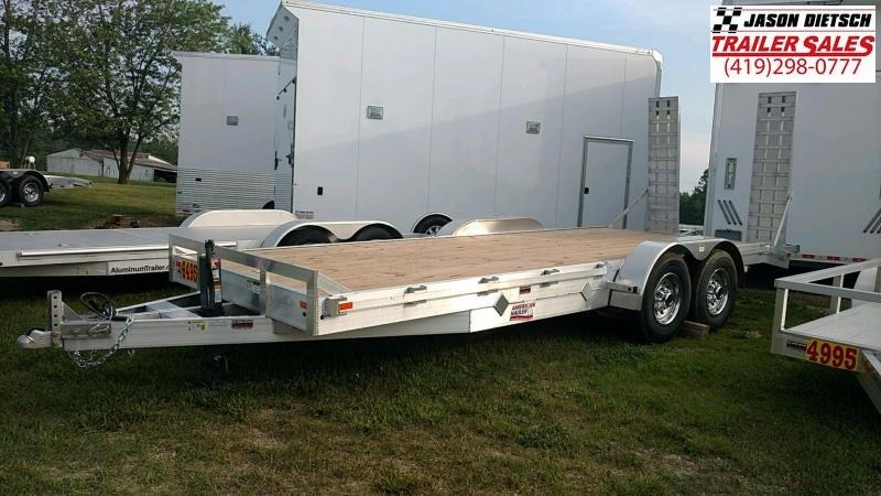 2018 American Hauler Industries 8.5X20 Car / Racing Trailer.... STOCK# 066094