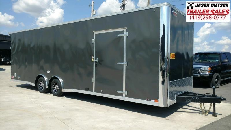 2020 United Trailers XLT 8.5X28 EXTRA HEIGHT Car / Racing Trailer....STOCK# UN-166459