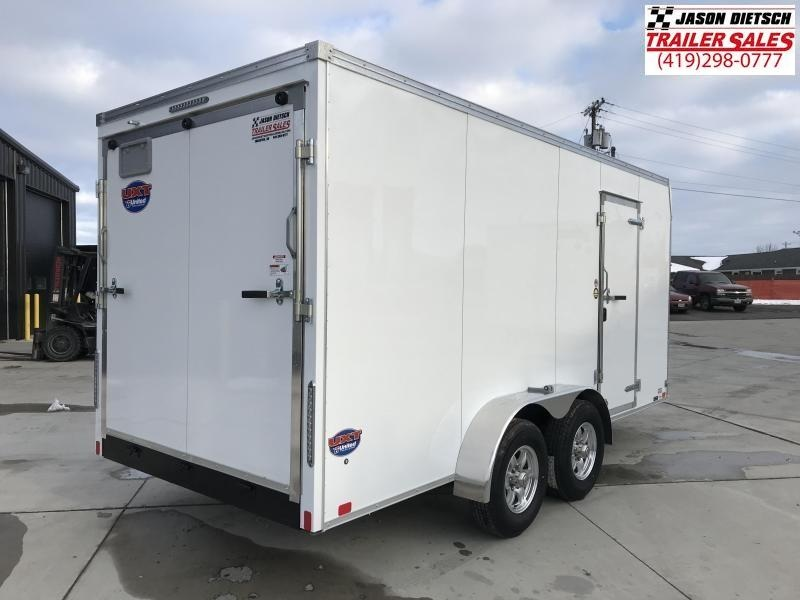 2020 United Trailers UXT 7X16 extra height Enclosed Cargo Trailer.... Stock# UN-168604