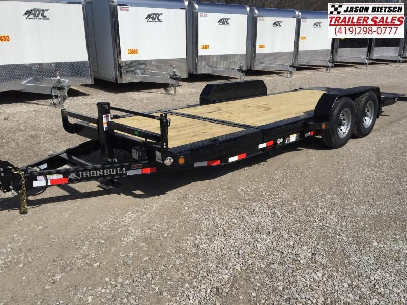 2018 Iron Bull 83X20 TILT Equipment Trailer STOCK- 018762