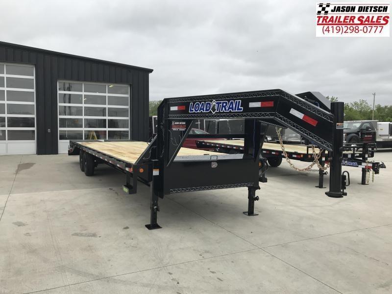 2019 Load Trail 102X30 Tandem Heavy Duty Gooseneck Equipment Trailer....STOCK# LT7440
