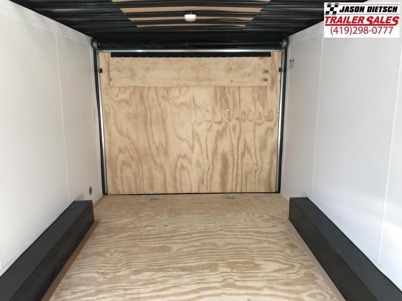 2019 United Trailers XLTV 8.5x19 Wedge-Nose Enclosed Car Hauler....Stock # UN-166599