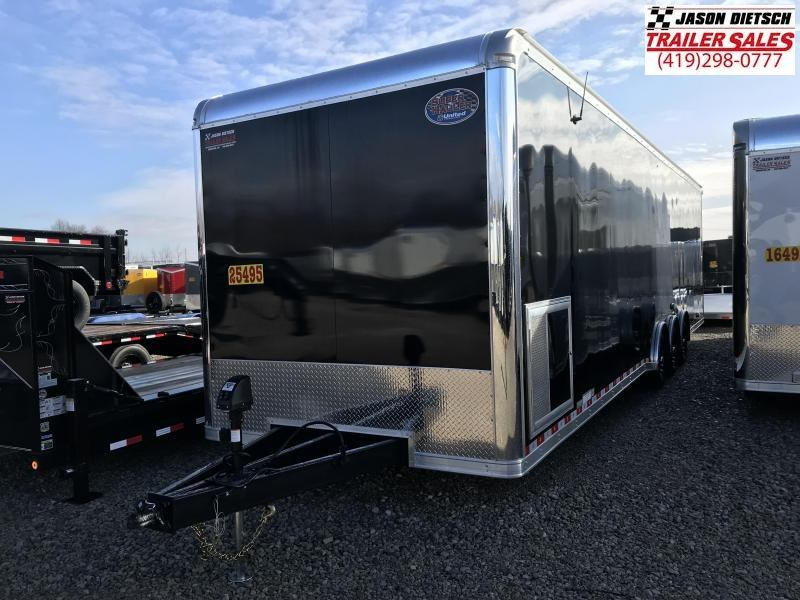 2019 United Trailers 8.5X34 EXTRA HEIGHT Car / Racing Trailer....STOCK# UN-165498