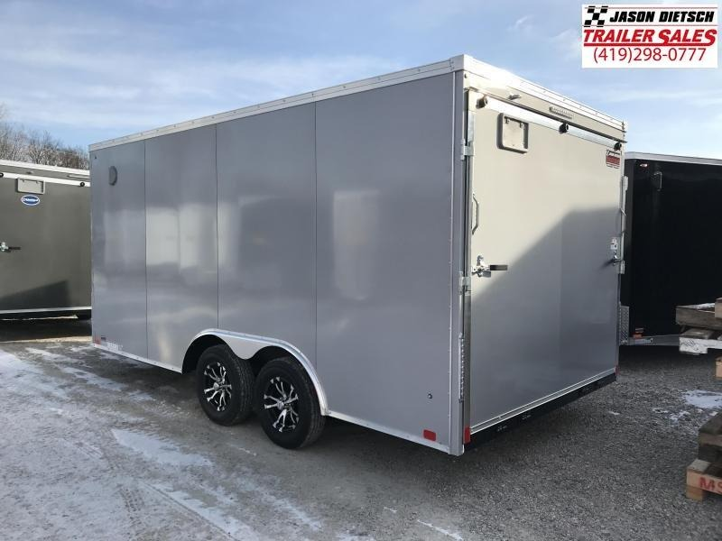 2020 United Trailers XLTV 8.5x19 Wedge-Nose Enclosed Car Hauler....Stock # UN-166623