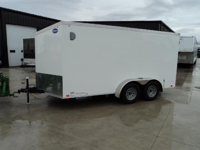2018 United Trailers XLV 7x14 V-Nose Enclosed Cargo Trailer....Stock# UN-161389