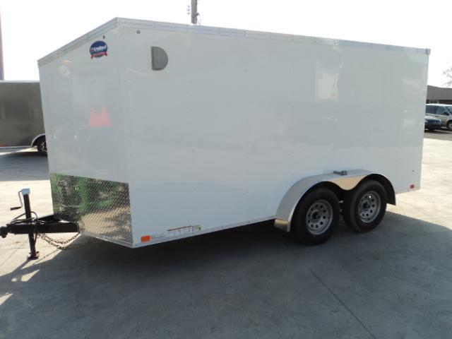 2019 United Trailers XLV 7x14 V-Nose Enclosed Cargo Trailer....Stock# UN-162756