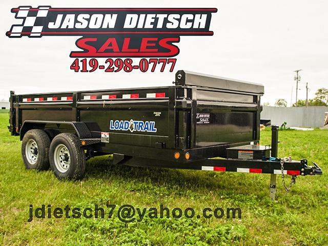 2017 Load Trail DT 83x14 Tandem Axle Dump Trailer....Stock#LT-40905