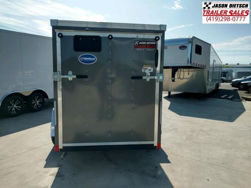 2020 United XLE 5X10 Enclosed Cargo TRAILER....Stock# UN-170422