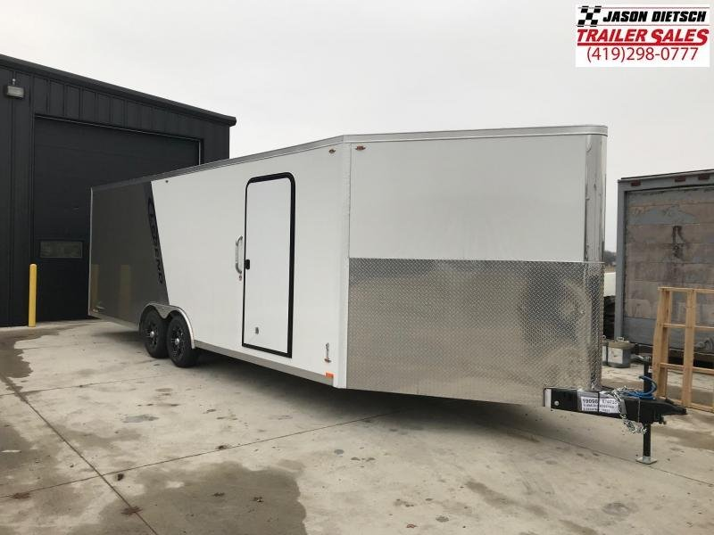 2019 Legend Manufacturing 8.5X30 TRAILMASTER EXTRA HEIGHT Snowmobile Trailer....STOCK LG-317368
