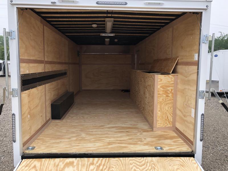 2019 United Trailer UXT 8.5x20 Enclosed Tool Crib Trailer....Stock#UN-163267
