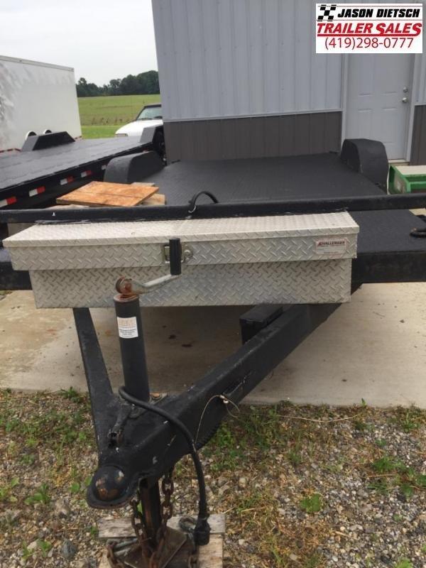 used car trailer 7 x 18