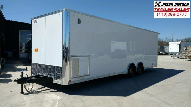 2020 United Trailers XLT 8.5X28 EXTRA HEIGHT Car / Racing Trailer....STOCK# UN-166443