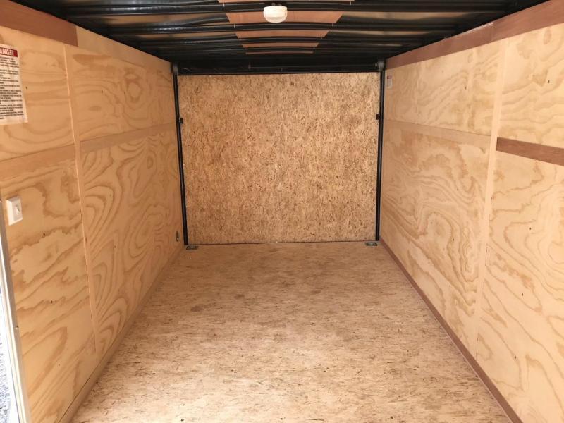 2019 United Trailers XLV 7x16 V-Nose Enclosed Cargo Trailer....Stock# UN-162785