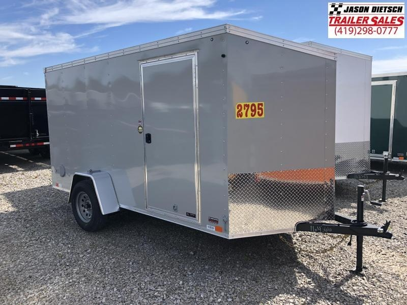2019 United XLV 6X12 V-Nose Slant Enclosed Cargo Tr....Stock# UN-164366