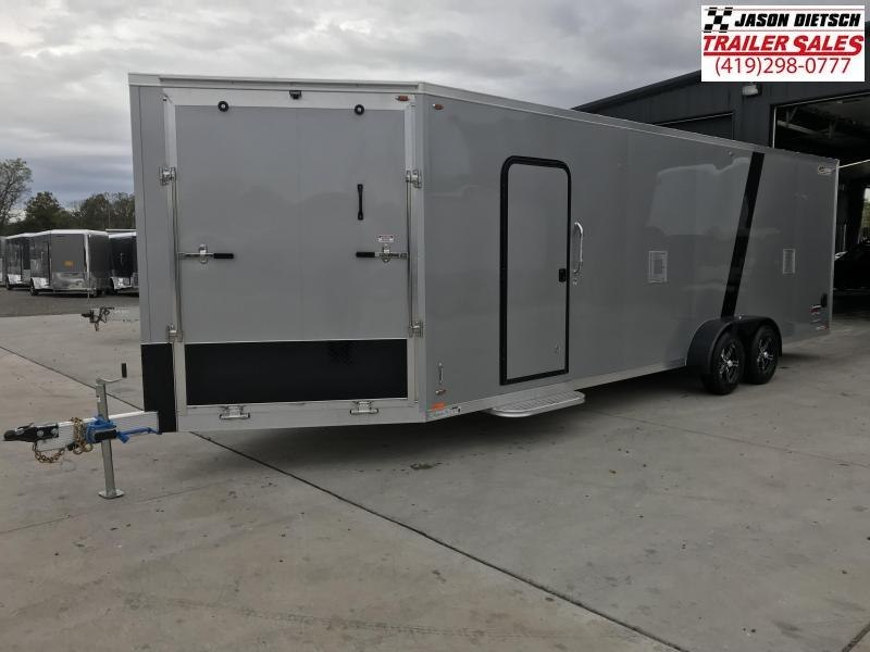 2019 Legend Manufacturing 7X29 EXPLORER EXTRA HEIGHT Snowmobile Trailer....STOCK LG-317339
