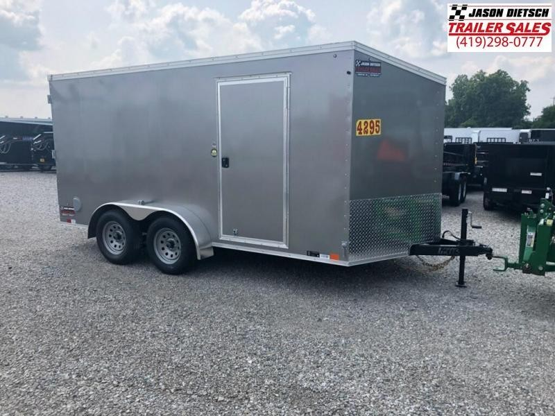 2019 United Trailers XLV 7x14 V-Nose Enclosed Cargo Trailer....Stock# UN-162773