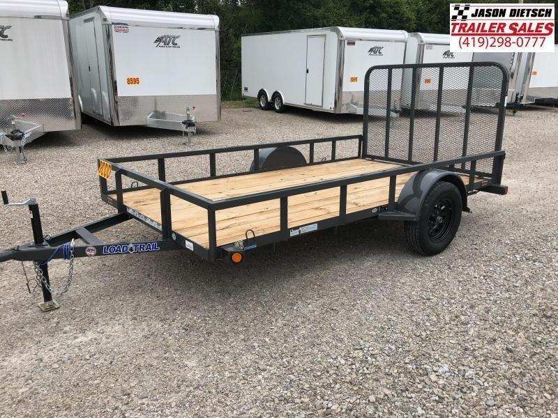 2018 Load Trail 77X12 Single Axle Utility Trailer....STOCK# LT-164312