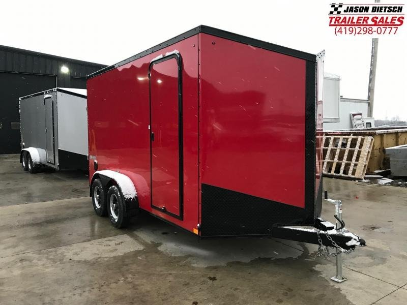 2019 Impact Trailers 7x14 EXTRA HEIGHT Enclosed Cargo Trailer....IMP001379