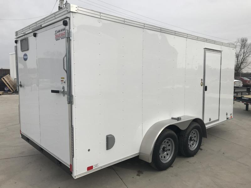 2019 United Trailers XLV 7x16 V-Nose Enclosed Cargo Trailer....Stock# UN-166171