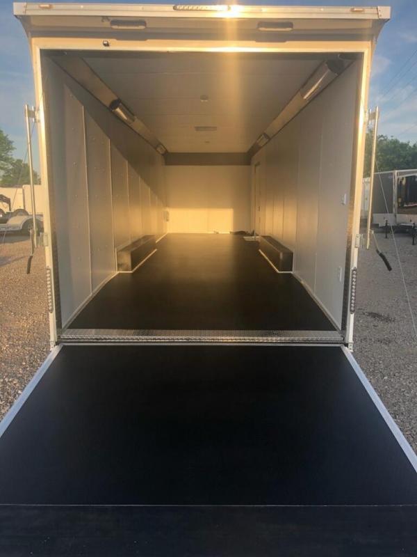 2019 United Trailer UXT 8.5x32 Enclosed Extra Height Carhauler....Stock#UN-163223