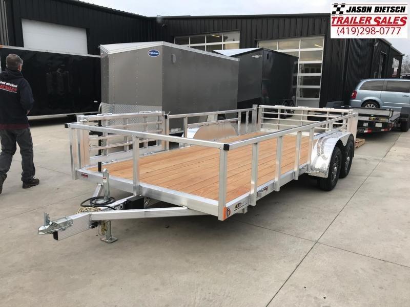 2019 Legend Manufacturing 7X16 ALUMINUM Utility Trailer....STOCK# LG-317453