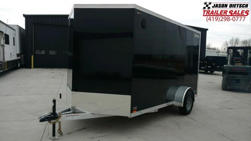 2019 Legend Manufacturing 7X14 TV Enclosed Cargo Trailer....STOCK# LG-1317324