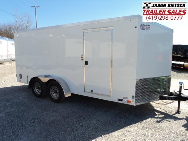 2018 United Trailers XLV 7x16 V-Nose Enclosed Cargo Trailer....Stock# UN-161400