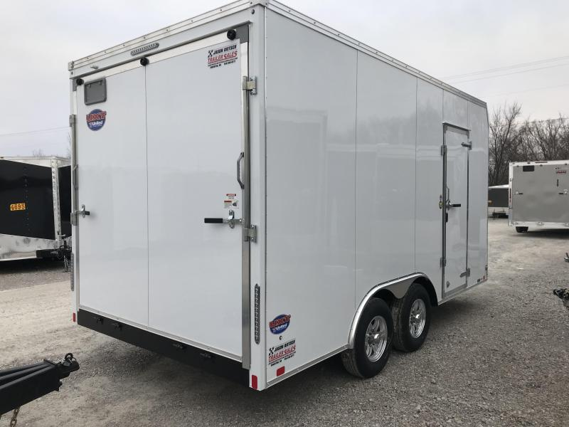 2019 United Trailers UXT 8.5X16 EXTRA HEIGHT Enclosed Cargo Trailer.... Stock# UN-166265