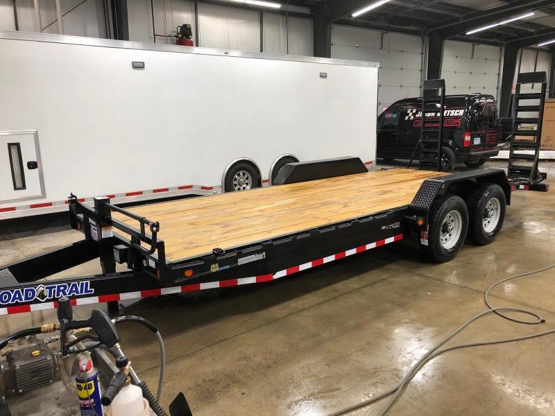 2019 Load Trail 83X20 Tandem Axle Carhauler....STOCK# LT-182789