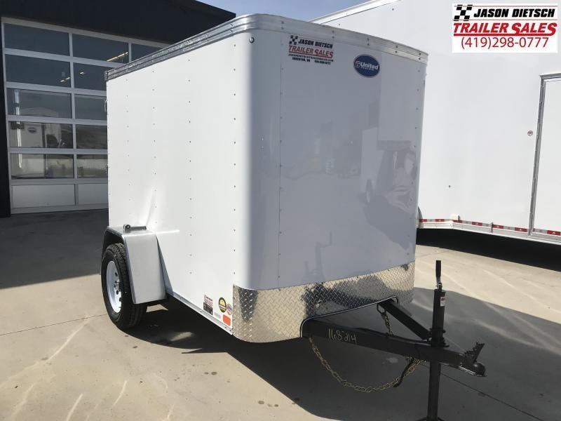 2020 United XLE 5X8 Enclosed Cargo TRAILER....Stock# UN-168214
