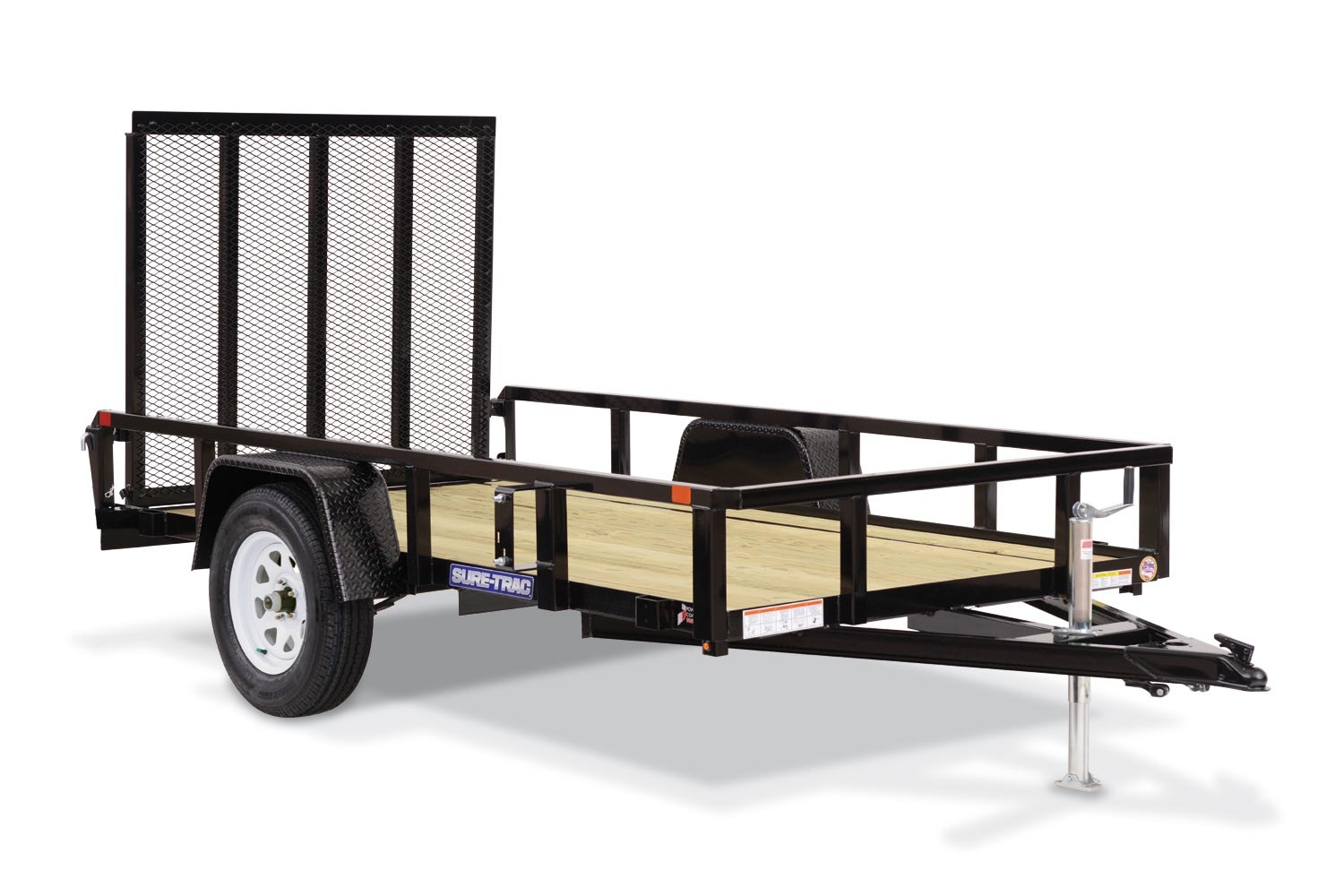 2019 Sure-Trac 7X12 Tube Top Utility....STOCK# ST-259924