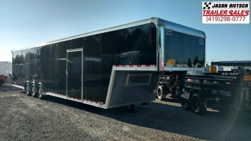 2019 United USHGN 8.5x44 Super Hauler Gooseneck Race Trailer Extra Height....Stock# UN-167728