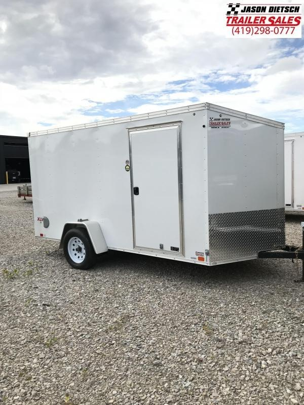 2018 United XLV 6X12 V-Nose Slant Enclosed Cargo Tr....Stock# UN-157354