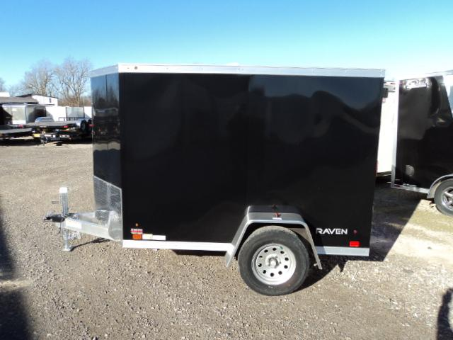 2018 ATC 5X8 ALUMINUM ENCLOSED CARGO TRAILER....STOCK # AT-10136