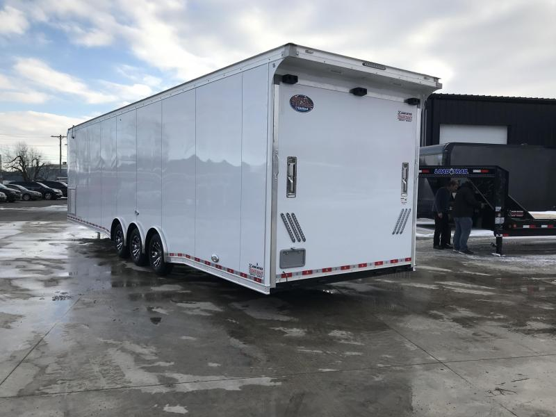 2019 United Trailers 8.5X34 EXTRA HEIGHT Car / Racing Trailer....STOCK# UN-165499