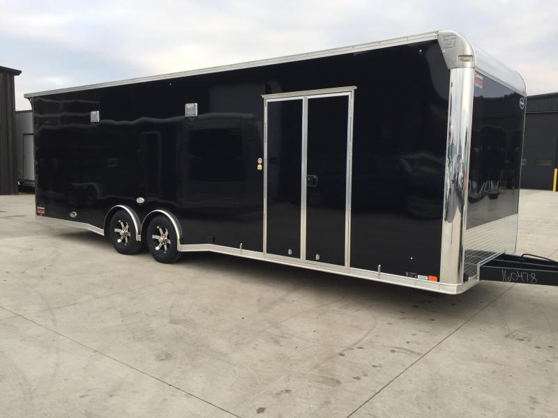 2018 United Trailer GEN 4- 8.5x28 Extra Height Enclosed Race Trailer....Stock#UN-160478