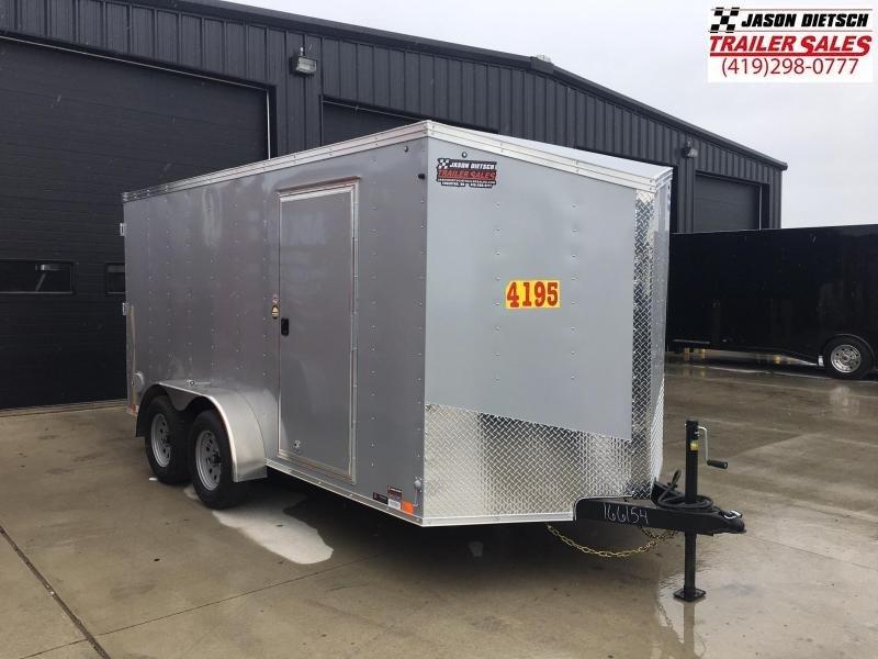 2020 United Trailers XLV 7x14 V-Nose Enclosed Cargo Trailer....Stock# UN-166154