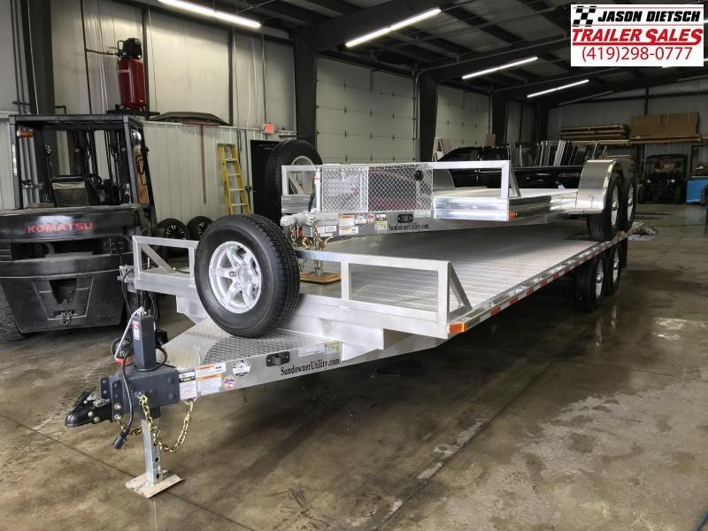 2019 Sundowner Trailers 9624MPBP Equipment Trailer