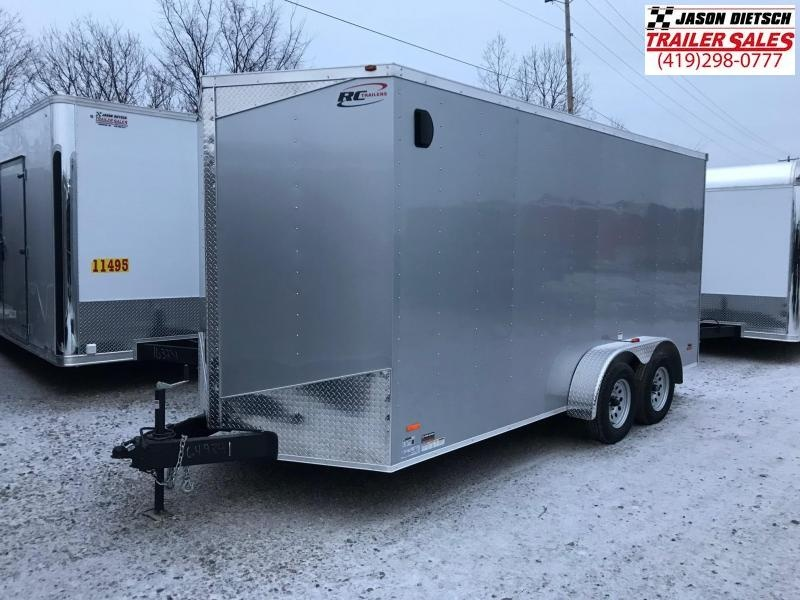 2019 RC Trailer 7x16 EXTRA HEIGHT....STOCK# RC-649841