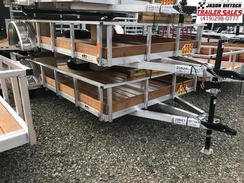 2019 Legend Manufacturing 6X12 ALUMINUM Utility Trailer....STOCK# LG-317427