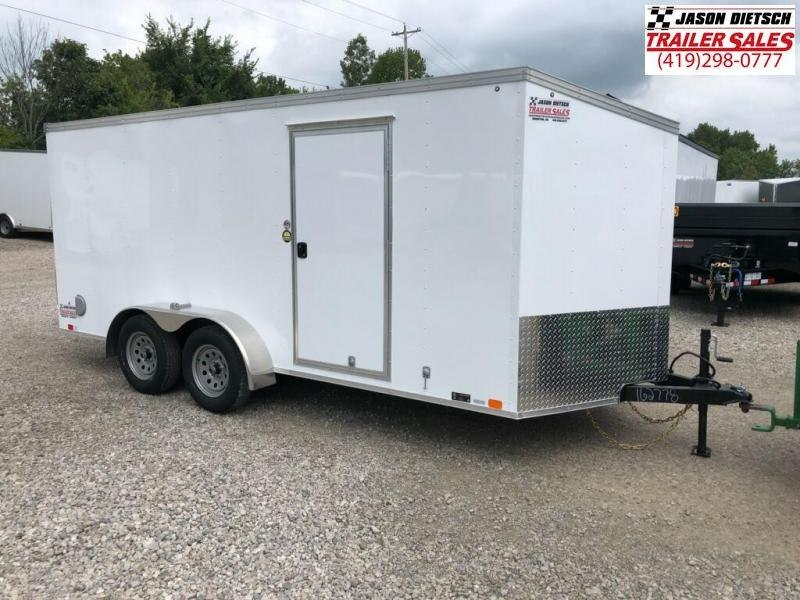 2019 United Trailers XLV 7x16 V-Nose Enclosed Cargo Trailer....Stock# UN-162778