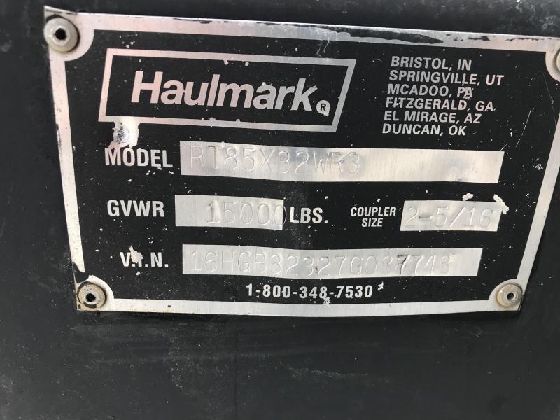 2007 Haulmark 8.5X32 Car / Racing Trailer