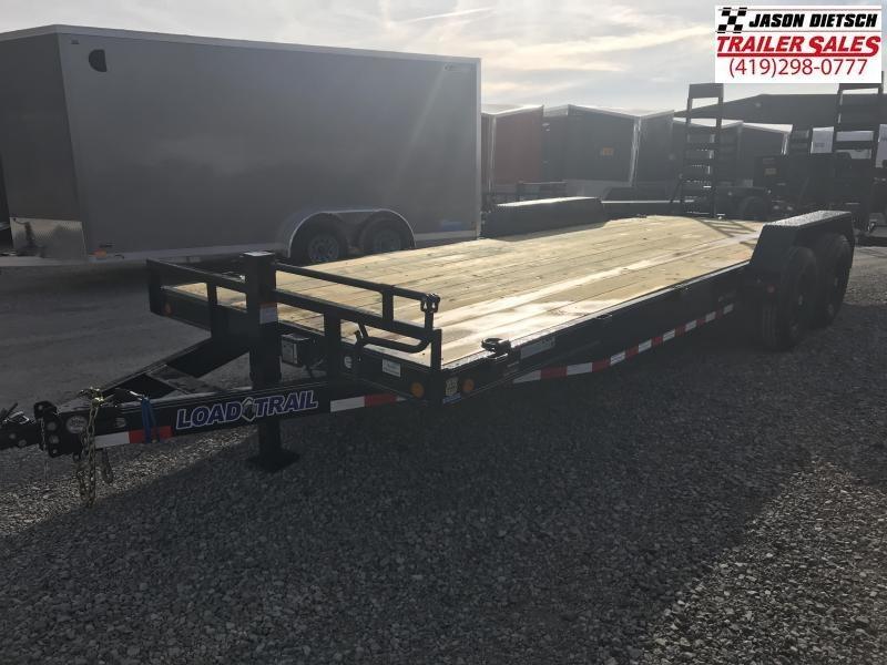 2019 Load Trail 83X22 Tandem Axle Carhauler Car / Racing Trailer....STOCK# LT-182490