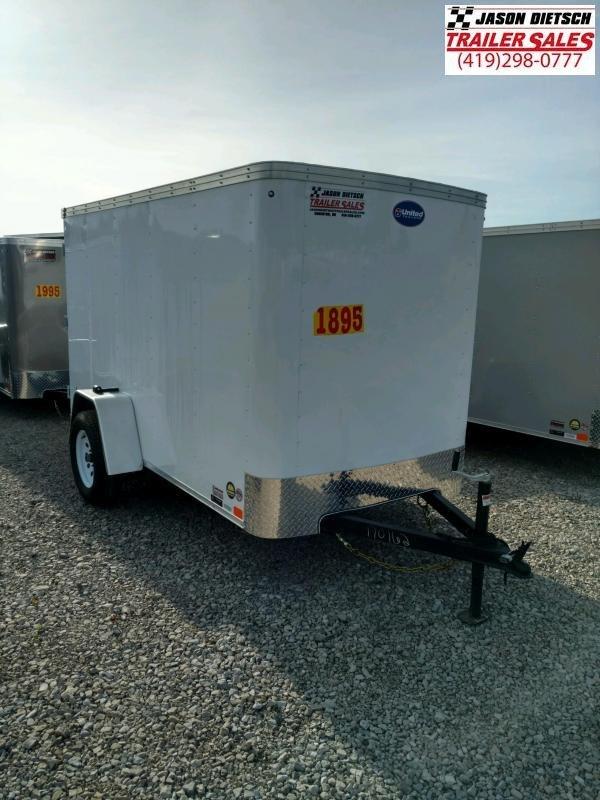 2020 United XLE 5X10 Enclosed Cargo TRAILER....Stock# UN-170162