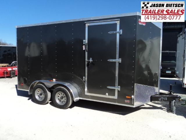 2018 RC Trailer 7x14 Wedge Nose W/Tandem Axle W/Extra Height 643918